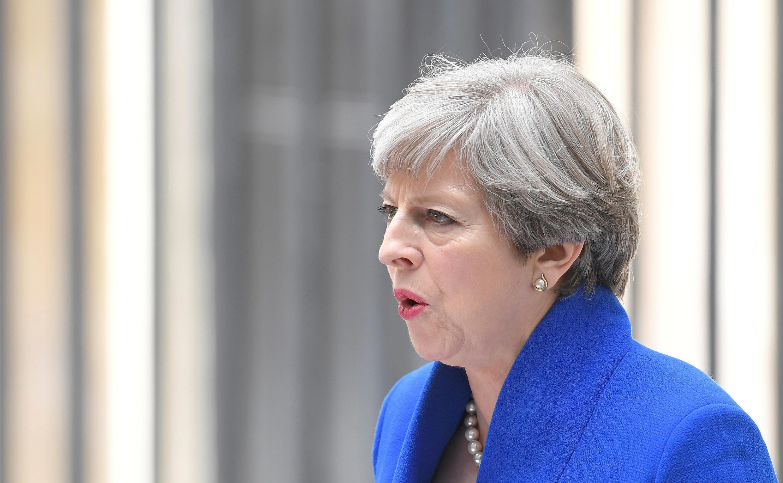Waziri Mkuu wa Uingereza Theresa May, yuko ziarani barani Afrika.