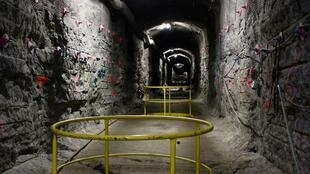 Une vue du site d'enfouissement des déchets nucléaires, à Onkalo, en Finlande.