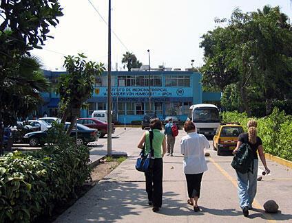 El Instituto de Medecina Tropical de la Universidad Cayetano Heredia, en Lima