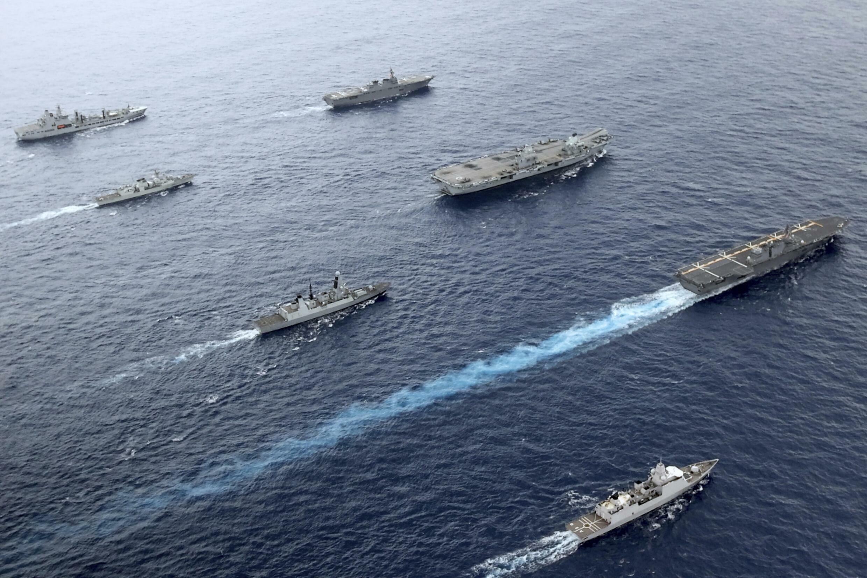 Pacifique - porte-avions - Grande Bretagne - Canada - Australie