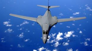 圖為美國B-1B轟炸機