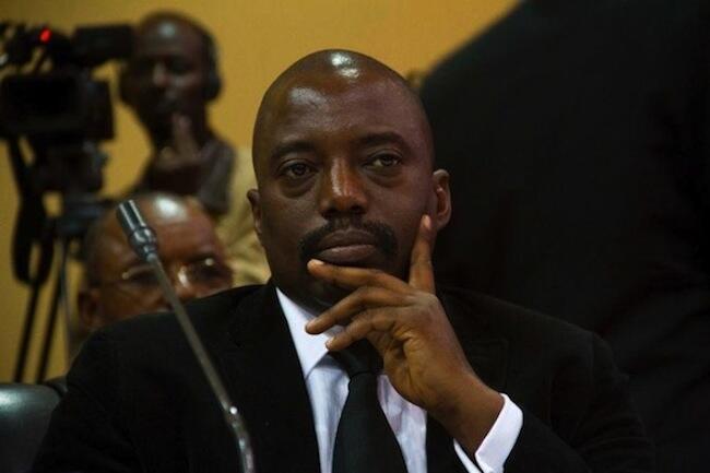 Le président Kabila en septembre 2013 au sommet de Kampala.