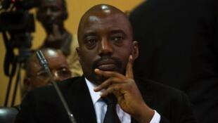 Le président Kabila en septembre 2013.