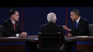 Ni Romney ni Obama n'ont évoqué la question des droits de l'homme en Chine.