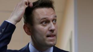 Alexeï Navalny, le 30 mai 2017.