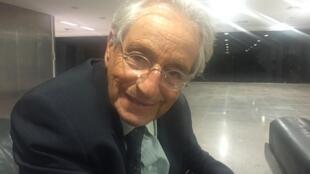 O jornalista e escritor Fernando Gabeira