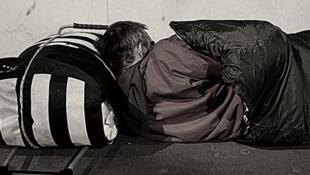 Com a onda de frio os moradores de rua são as pessoas mais vulneráveis.