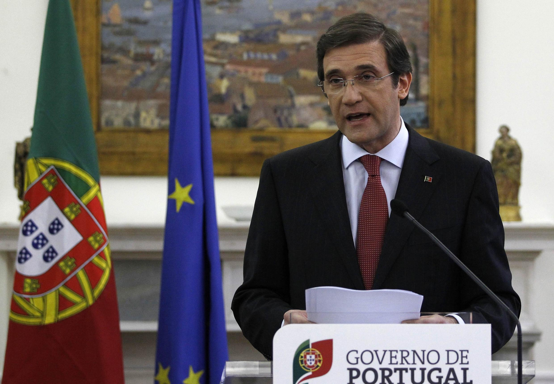 O premiê português Pedro Passos Coelho em foto do dia 3 de maio, em Lisboa.