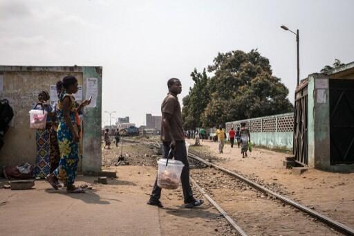 La gare de Brazzaville.