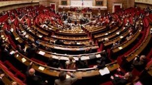 Hemiciclo da Assembleia Nacional Francesa
