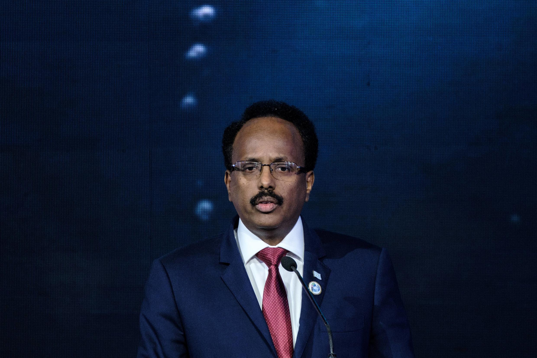 File photo of  disputed Somalia President Mohamed Abdullahi Mohamed, AKA «Farmajo»