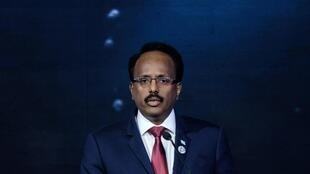 File photo of  disputed Somalia President Mohamed Abdullahi Mohamed, AKA ?Farmajo?