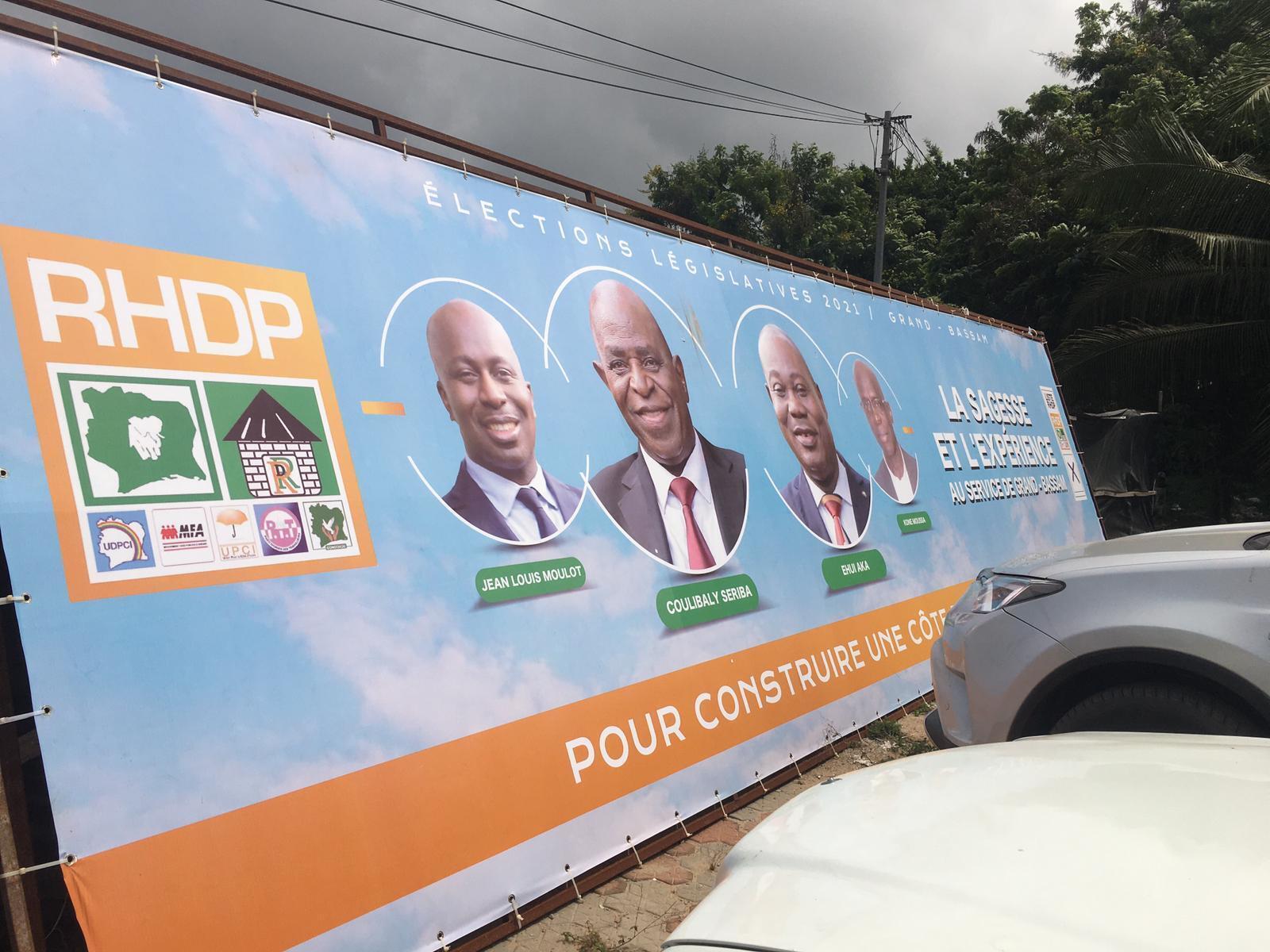 Député sortant du RHDP, Seriba Coulibaly se dit certain que le bilan d'Alassane Ouattara le fera réélire.
