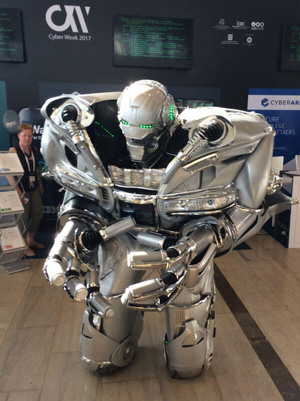 This robot is not a killer, but what would happen if it fell into the wrong hands?