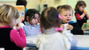 کودکستانی در فرانسه
