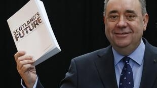 Alex Salmond na Scotland