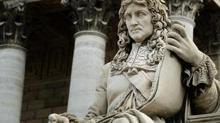 A statue of Jean-Baptiste Colbert, controller-general of France's finances under King Louis XIV adorns the Palais Bourbon where the French National Assembly is located. Colbert drafted the Code noire, the legal framework for slavery in French colonies. 11 June 2020