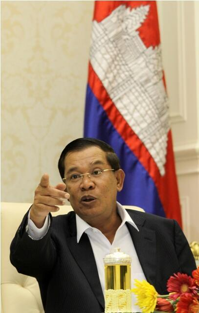 Fraiministan kasar Cambodia, Hun Sen