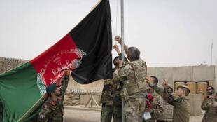 Visi vya jeshi vya Afghanistan huko Antonik katika mkoa wa Helmand.