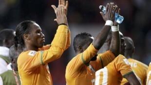 Didier Drogba a encore joué les sauveurs en signant un doublé.
