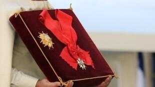 Huân chương Bắc Đẩu Bội Tinh được trao tặng cho đại tá Fred Moore, người hùng trong Đệ nhị Thế chiến ngày 22/09/2017.