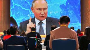 Пресс-конференция Владимира Путина 17 декабря 2020 г.