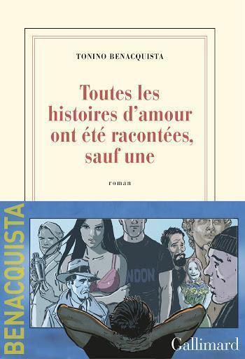 Couverture du nouveau roman de Tonino Benacquista