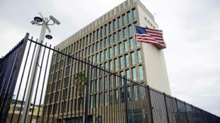 Tòa Đại Sứ Mỹ tại La Habana, Cuba.