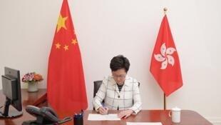 港區國安法30日深夜由港府公布即時實施,特首林鄭月娥簽署該法,並已刊憲生效。