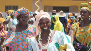 Des villageoises de Toubacouta, au Sénégal.