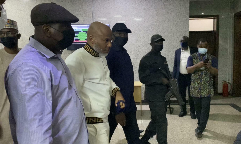 000_9Q64JU Nigeria Nnamdi Kanu leader indépendantiste biafrais