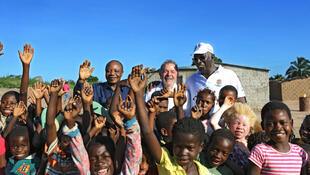 Lula visitou projeto de agricultura familiar em Angola, a 6 de Maio de 2014.