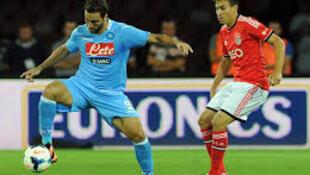 Benfica perde frente ao Nápoles