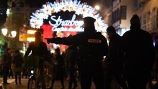 Двух выходцев из Чечни задержали 27 ноября, на рождественской ярмарке в Страсбурге