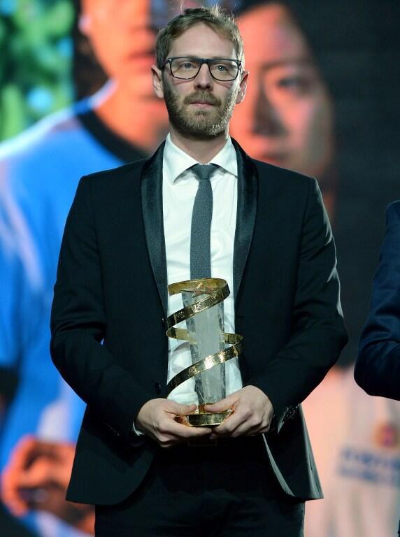 Le réalisateur franco-belge Guillaume Senez lors de la 15e édition du Festival international du film de Marrakech, le 12 décembre 2015.