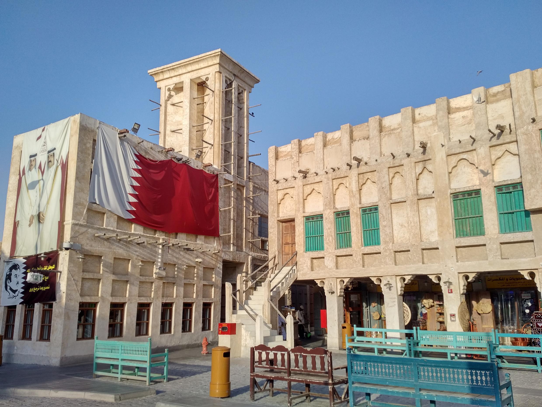 El Souq Waqit. Doha, Catar, septiembre de 2017.