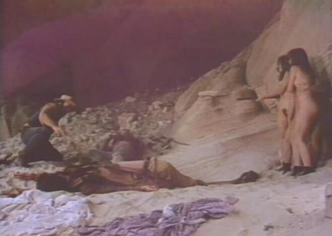 Frame do filme pornô Dirty Western, de 1975.