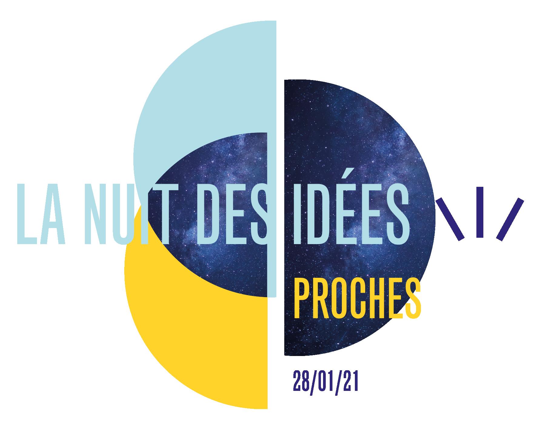 Logo de la Nuit des idées 2021
