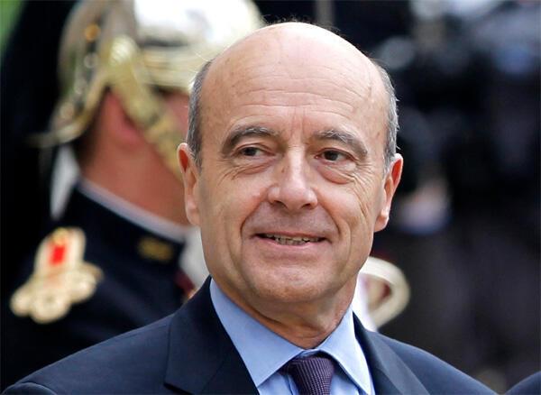 آلن ژوپه، وزیر امور خارجه فرانسه