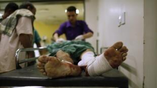 L'attentat du 21 mai à Sanaa, revendiqué par al-Qaïda, a causé la mort de 96 militaires et en a blessé près de 200 autres.