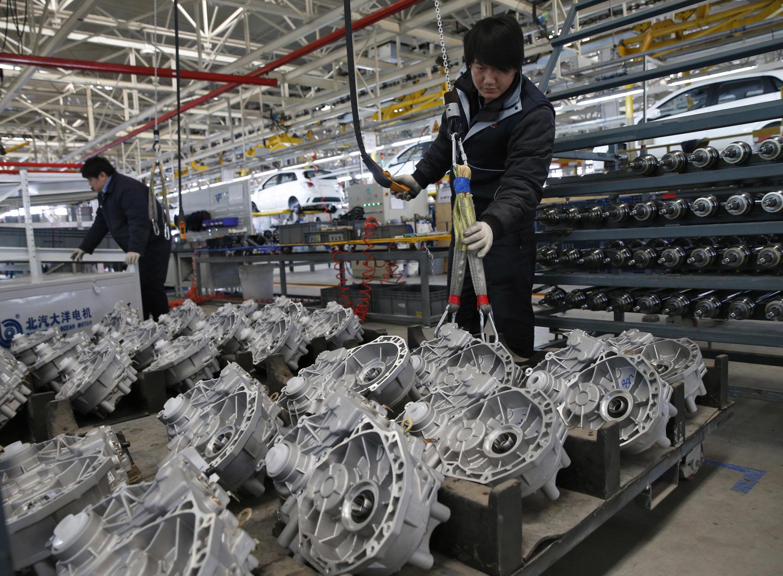 La production industrielle et le commerce extérieur chinois ont enregistré un net ralentissement.