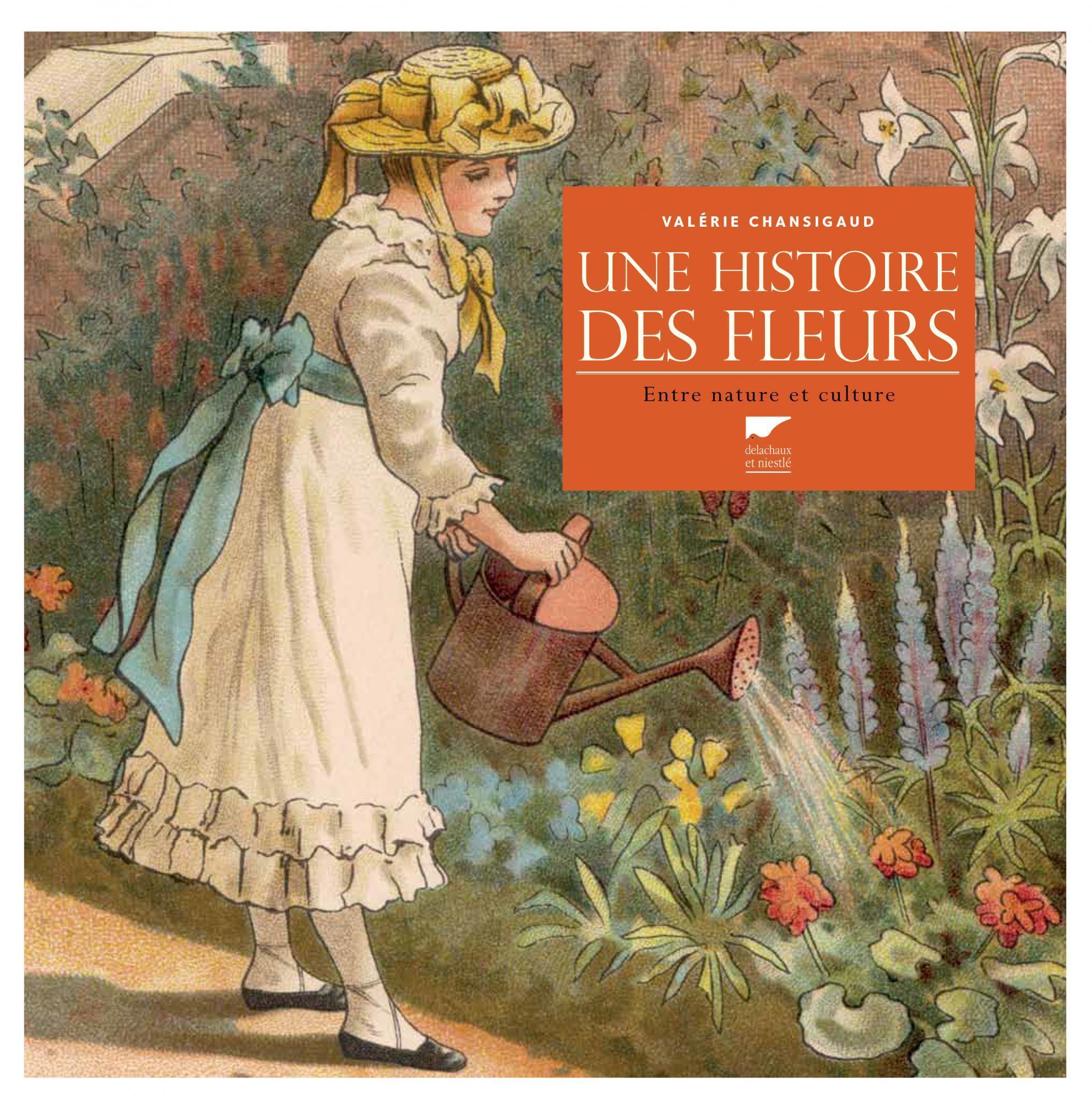 Une histoire des fleurs.