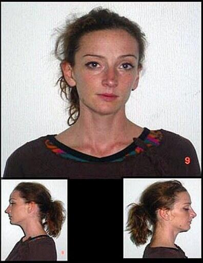 La francesa Florence Cassez fue arrestada por la policía mexicana en diciembre de 2005.