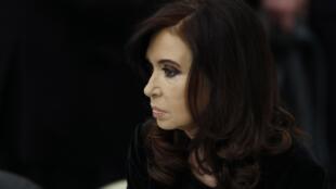 Imagen de archivo de la presidenta argentina Cristina Kirchner.
