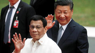 Philippines-Trung Quốc : Rodrigo Duterte tiếp Tập Cận Bình tại Manila ngày 20/11/2018.