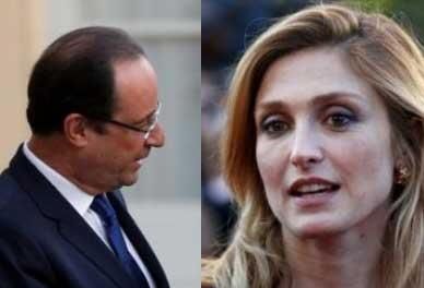 François Hollande et Julie Gayet.