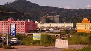 Một dự án khách sạn tại Boten, Lào ( Vùng giáp với biên giới Trung Quốc)