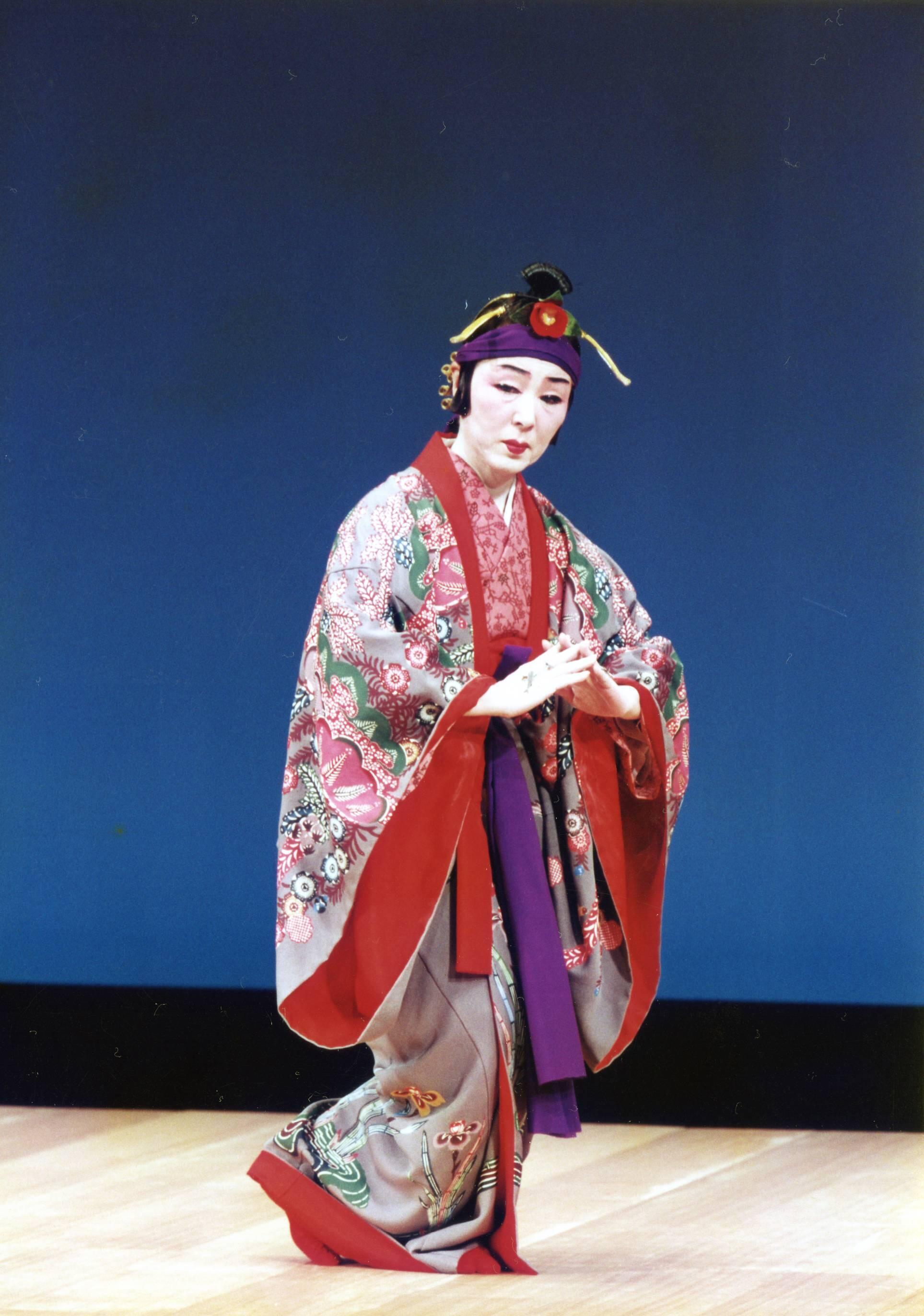 Okinawa traditional dance
