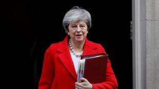 La primera ministra británica, Theresa May, este 27 de febrero de 2019.
