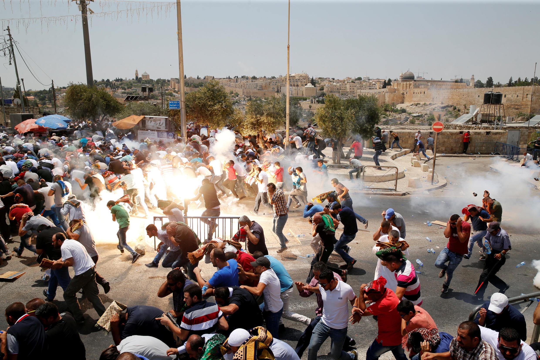 Confrontos de sexta-feira na parte histórica de Jerusalém já são considerados os mais graves no local.